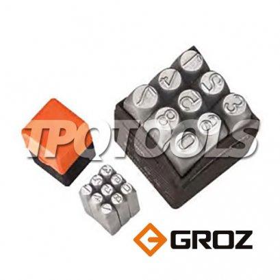 เหล็กตอกตัวเลข 0-9 GROZ