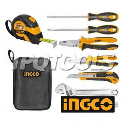 ชุดเครื่องมือช่าง 8 ชิ้น INGCO-HKTH10808