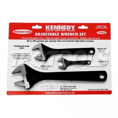 ชุดประแจเลื่อน KEN-501-0600K