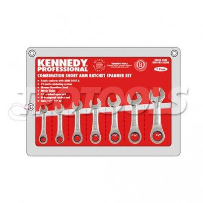 ชุดประแจแหวนฟรีข้างปากตาย KEN-582-2228K