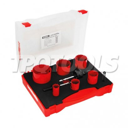 ชุดโฮลซอ Variable Pitch Bi-Metal HSS Holesaw Kits KEN-050-2400K