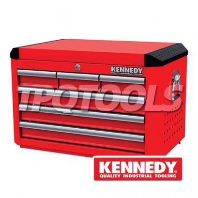 """ตู้เครื่องมือ RED-28"""" 6 DRAWER TOP CHEST KEN-594-2220K"""