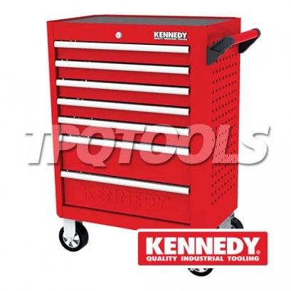 """ตู้เครื่องมือ RED-28"""" 7 DRAWER ROLLER CABINET KEN-594-2320K"""