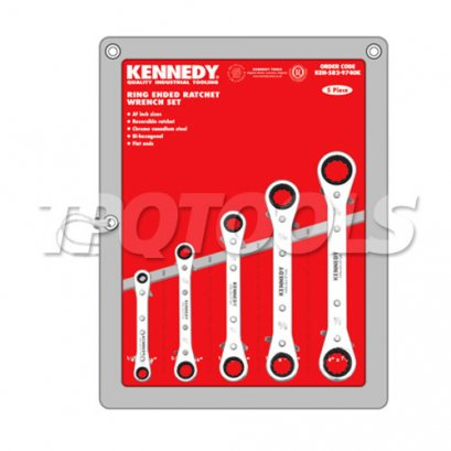 ชุดประแจแหวนฟรี คอตรง KEN-582-9740K
