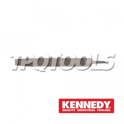 """ตะไบ 6""""(150mm) HALF ROUND SMOOTH RASP KEN-032-3110K"""