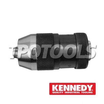 Supra-Rapid Clamping Keyless Drill Chuck