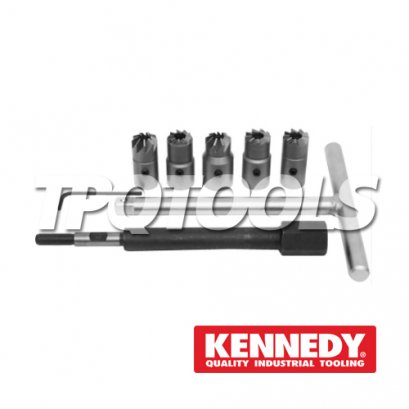 Diesel Injector Seat Cutter Set - 8 piece KEN-503-1830K