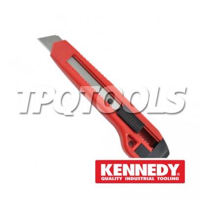 มีดคัตเตอร์ Snap-off Blade Retractable Knife KEN-537-0370K
