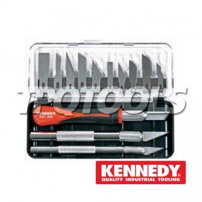 มีด มีดตัดกระจก 16 Piece Precision Knife Set KEN-537-5100K