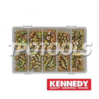 GREASE NIPPLE KIT 140-PCE KEN-541-5140K