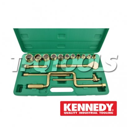 Spark-Resistant Safety Socket Set 1/2 Sq.Dr. KEN-575-7460K, KEN-575-7500K