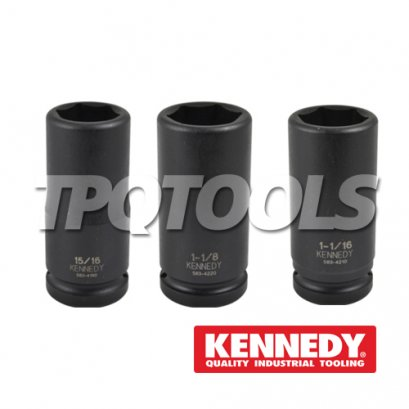 "3/4"" Drive Inch Size, Deep Length, 6-Point"