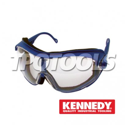 Cobra Scratch Resistant, Anti-Mist Safety Goggles KEN-960-8060K