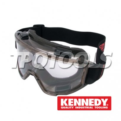 Scratch Resistant, Anti-Mist Safety Goggles KEN-960-8140K