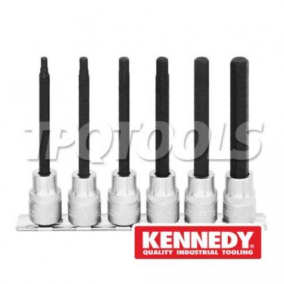 ชุดลูกบล็อกเดือยโผล่ 6 ชิ้น Long Screwdriver Sockets and Socket Sets KEN-582-6324K, KEN-582-6340K