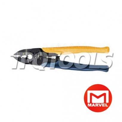 คีมตัด ปอก ย้ำ สายไฟ MS-235PN