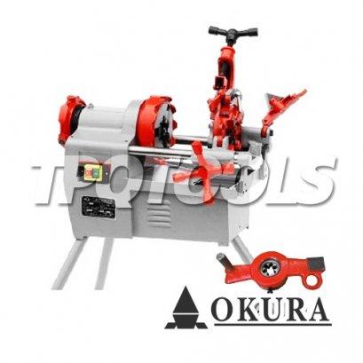 เครื่องต๊าปเกลียวไฟฟ้า OK-KT402M (REX TYPE)