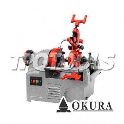 เครื่องต๊าปเกลียวไฟฟ้า OK-KT201 (REX TYPE)