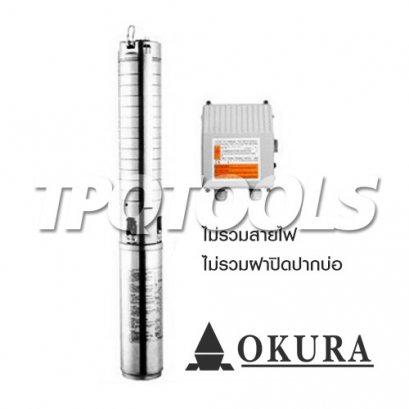 ปั๊มสูบน้ำบาดาล 100QJD318-1.5