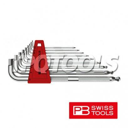 ชุดประแจหกเหลี่ยมหัวบอลยาว PB3212LH