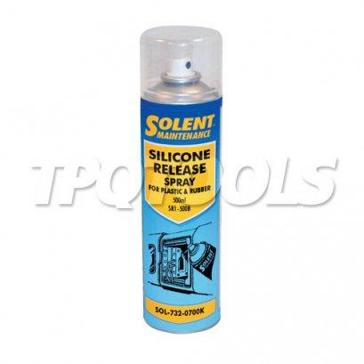 Silicone Release Spray For Plastics & Rubber SOL-732-0700K