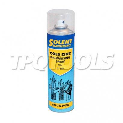 Cold Zinc Galvanising Spray SOL-732-0900K