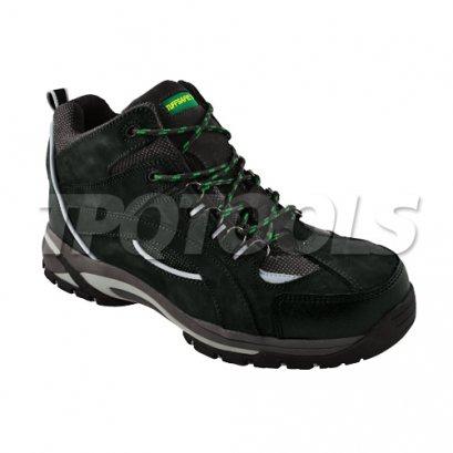 รองเท้าบูทสีดำเทา BNM11