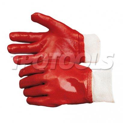 ถุงมือเคลือบ PVC