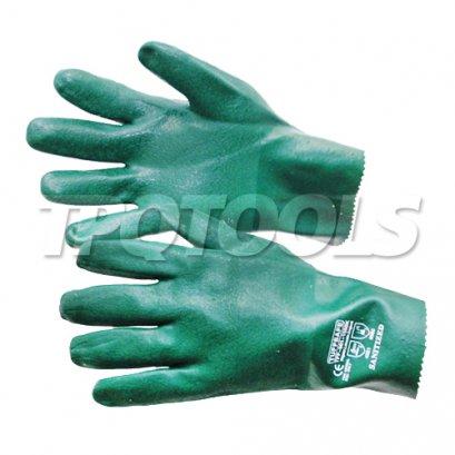 ถุงมือยาวเคลือบ PVC TFF-961-1550K