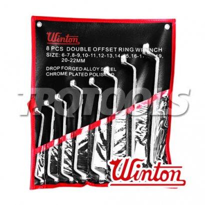 ชุดประแจแหวน WNW02_8S6-22