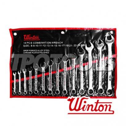 ชุดประแจแหวนข้างปากตาย WNW01_9S10-23
