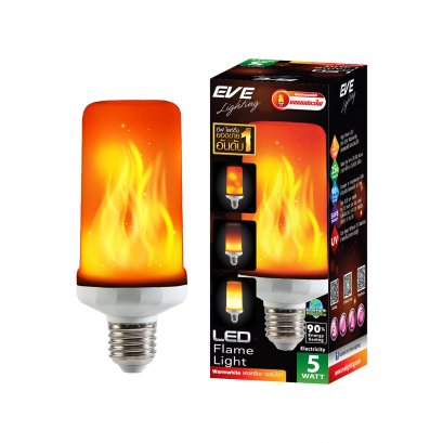 LED Flame light 5w Warmwhite E27