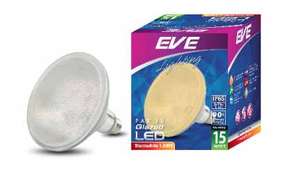 LED PAR 38 Glazed 15w Warmwhite