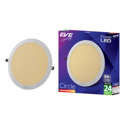 LED Panel Circle 24w Warmwhite
