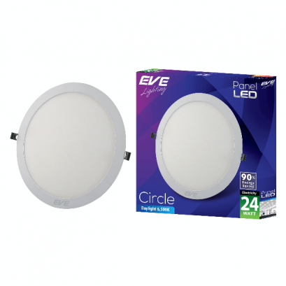 LED Panel Circle 24w Daylight