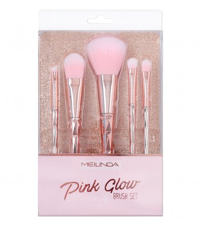 Pink Glow Brush Set
