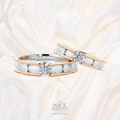 แหวนคู่ แหวนหมั้น แหวนแต่งงาน แหวนเพชร KD3251 & KD3041