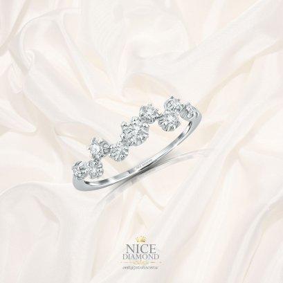 แหวนดวงดาวเพชร แหวนเพชรผู้หญิง KD3799