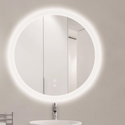 SOFIA LED MIRROR ROUND SHAPED 3.2 x 80 x 80 CM. M0001