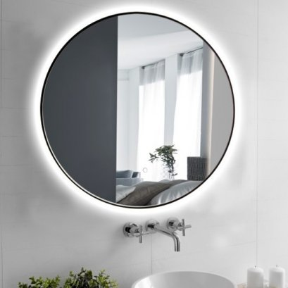 Focco DARA BLACK LED Mirror