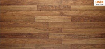 พื้นลามิเนตscgลายไม้ราคาถูกสีสักปาร์เก้สำหรับพื้นห้องนอน