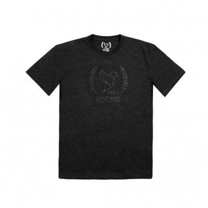 T SHIRT02-Black Gray LOGO