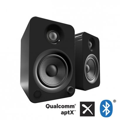 YU4 Powered Bookshelf Speakers (Gloss Black)