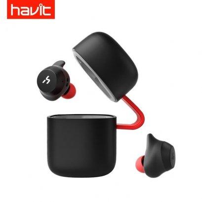 Havit G1 True Wireless Sport Headphone Black & Red