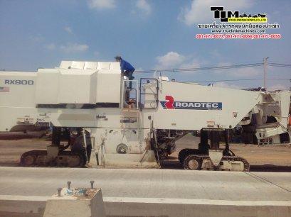 รถกัดถนนRoadtec RX-900-3 ปี2000 นำเข้า USA ถึงไทยเรียบร้อย (รถขูดไสผิวถนน )