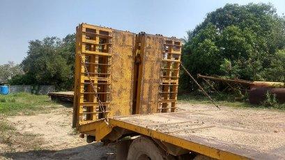 หางโรเบส 3 คาน พร้อมสพาน ยาง 1000 ยางดี 70%  เก่าไทย พร้อมใช้งานขายตามสภาพ