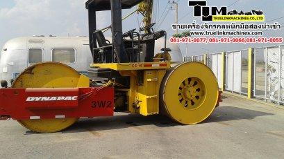 รถบด DYNAPAC  CS15-3  8-9 ตัน นำเข้า USA ถึงไทยเรียบร้อย(คันที่1)