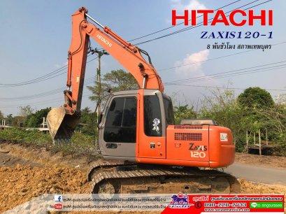 ขายรถขุด HITACHI ZX120-1 ใช้งาน 8 พันชั่วโมง สภาพเทพบุตร