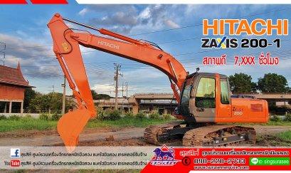ขายรถขุดมือสอง   HITACHI ZX200-1 ใช้งาน 7,124 ชั่วโมง