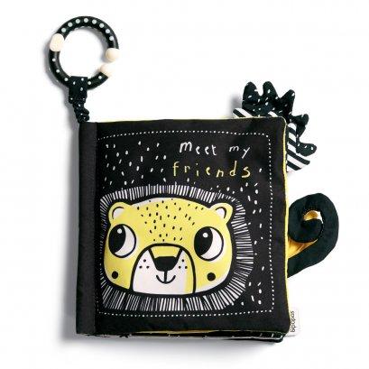 ของเล่นเสริมทักษะ Offspring Soft Book - Meet My Friends